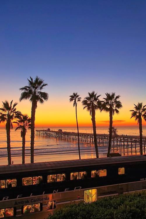 Our wonderful world - California sunset