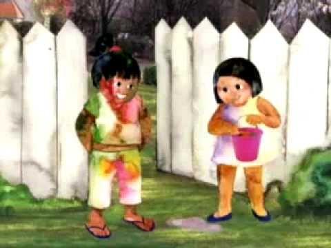 holi video for kids