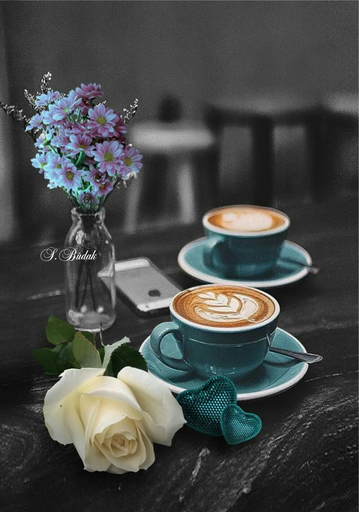 Coffee ☕️ and flowers