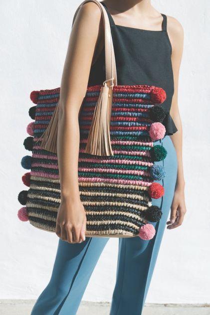 Se inspire em lindas bolsas de crochê
