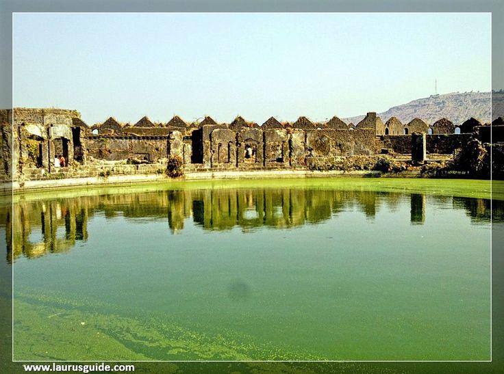 Pond inside the Janjira Fort