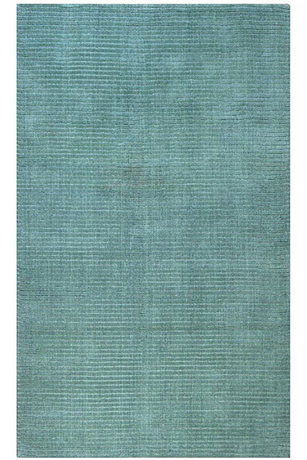 Blu Pianura Tufted a mano Tappeti TPT-08150 X 240 CM ( 5'x8′ ) | Arts of India – Italy