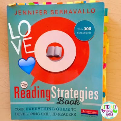 """""""What's in the Bubble?"""" Reading Strategy for Levels C-M from Jennifer Serravallo's The Reading Strategies Book"""