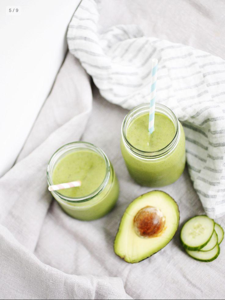 Avocado smoothie from my book Hyvää huomenta (Good morning)