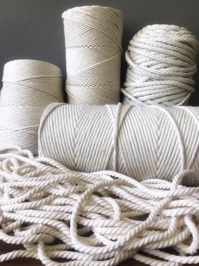 7//32 Several Lengths to Choose 1 1//4 3//8 1 1//2 5//8 1//4 GOLBERG Twisted 100/% Natural Cotton Rope 3//16 White Cotton Rope 1 3//4 1//2 5//16