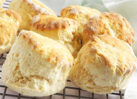 Engelske te scones - perfekte til kaffen og teen