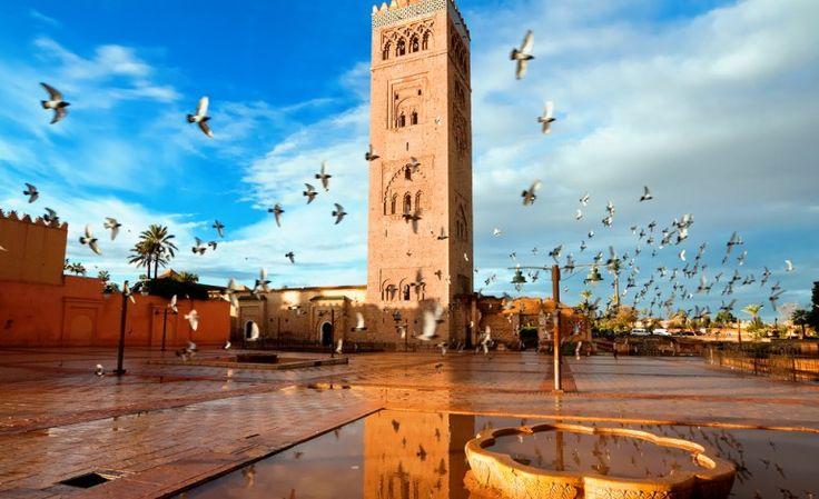 Time Doctor Koutoubia #Mosque #Marrakech #Morocco.   #Holidays #Marrakesh #Travel #UK #MoroccoHolidayPackages #ViriksonMoroccoHolidays