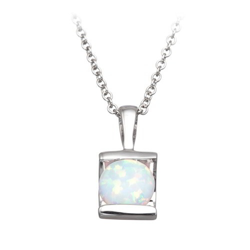 fred meyer jewelers created opal bar pendant october