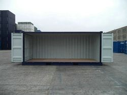 We have new side opening stock in our depots. They are Ideal for storing over sized equipment that cannot gain access to the container from standard cargo doors, transportation of heavier items, process enclosures, generator and equipment enclosures, and also for displays and exhibitions!