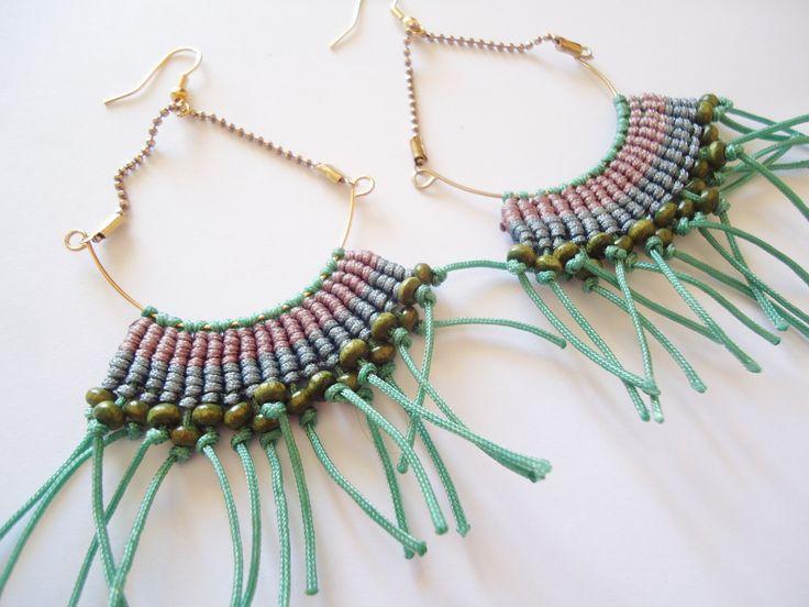 macrame https://www.etsy.com/listing/225862501/macrame-handmade-earrings?ref=listing-shop-header-2