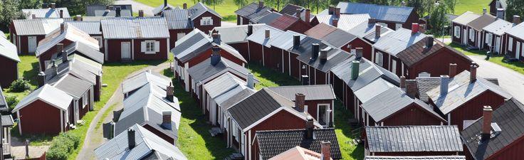Gammelstads kyrkstad - Världsarv i Sverige
