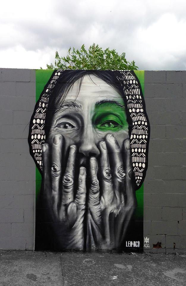 Leo-dco -street artist