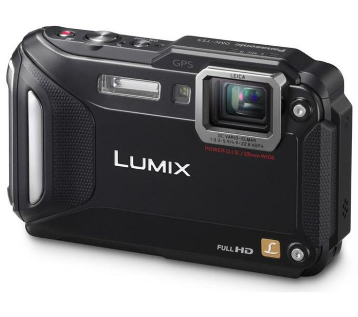 PANASONIC  Lumix DMC-FT5 Tough Compact Camera - Black, Black Price: £ 219.00 Take on the elements and get great results in all weather conditions with the durable Panasonic Lumix DMC-FT5 Tough Compact Camera in black. Ready for anything Whether you want a waterproof camera for high-res diving photos, a freezeproof camera to video your adventures on the piste, or a dustproof camera for beach...