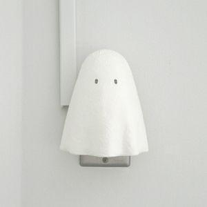 White Ghost Lamp from Mitsubai Tokyo! 密買東京|オバケがバケた!|商品詳細 (OBAKE LIGHT|オバケライト -ユルリク(yuruliku)-)