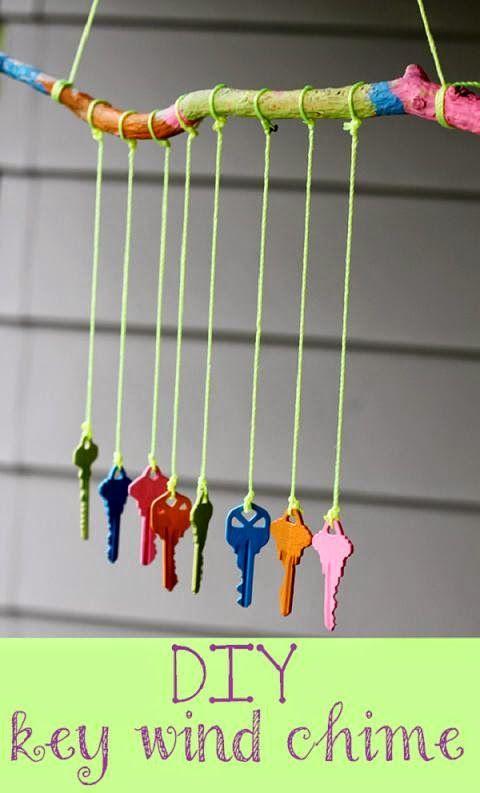 ACCENDO: Campanillas de viento - DIY Key Wind Chime