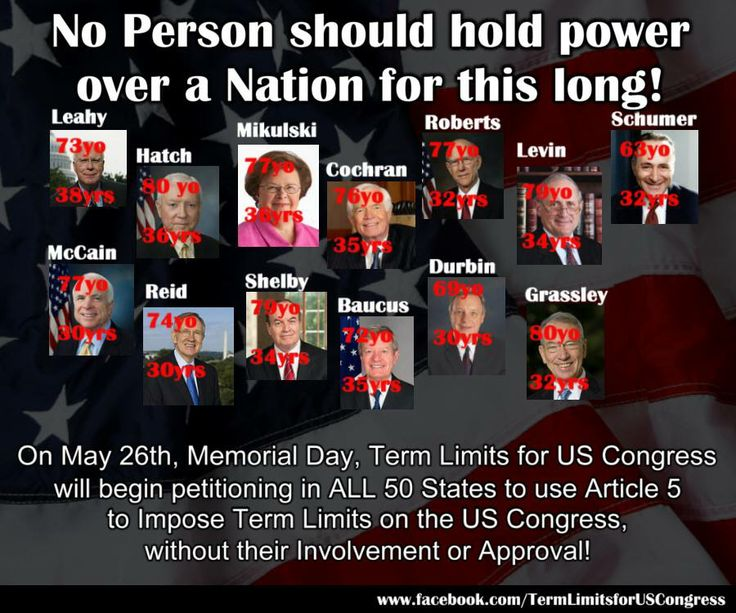 "essays on congressional term limits Mcguire 1 trevor mcguire university of delaware 14 april 2016 a danger to american freedom the absence of congressional term limits and its ""dangerously oligar."