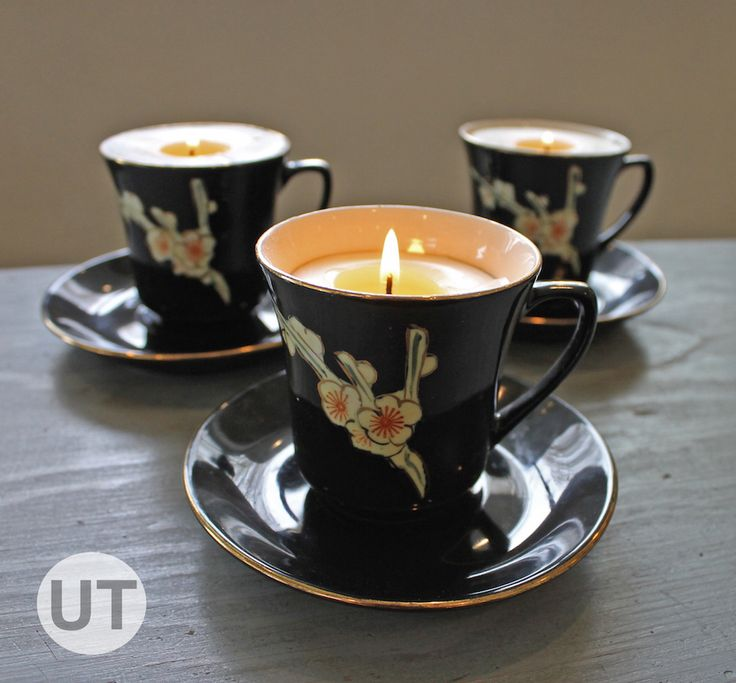 53 best tea time images on pinterest balcony deko and home decor teacup candles tutorial upcycle that fandeluxe Epub