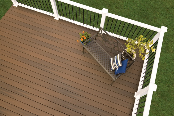 52 best porch railings images on pinterest railing ideas for Outdoor decking boards