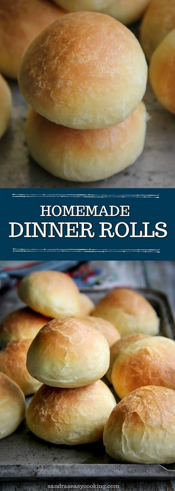 Simple, Easy and Delicious #recipe for Homemade Dinner Rolls. #bread #food #baking