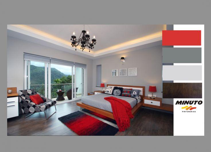 El color rojo esta dentro de las tonalidades cálidas, que a menudo es combinado con otros tonos cálidos. En esta habitación moderna y elegante te mostramos como inyectar el rojo, sin hacer que el espacio quede demasiado enérgico, mezclando con colores neutrales.