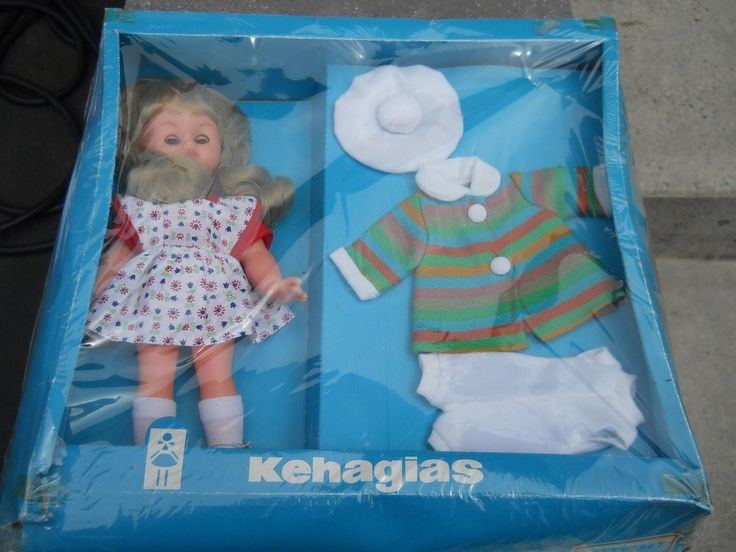 Kehagias Greek Betty Doll Mint Doll Greece new in box (05/17/2016)