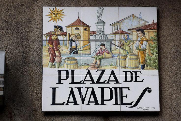 Plaza De Lavapies (Madrid)
