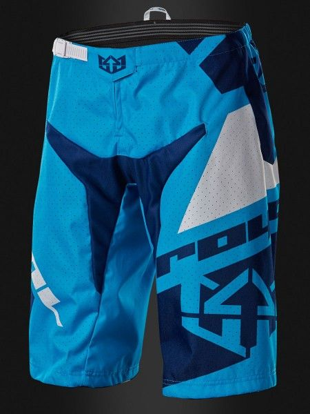 Royal Racing 2016 Victory Race Short Cyan Blue Navy Blue White front