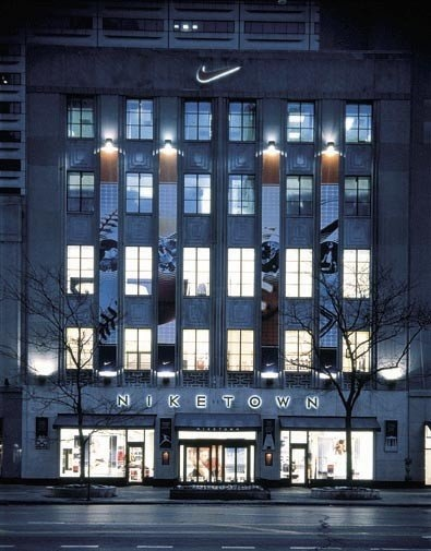 The Niketown on Michigan Ave, Chicago IL. The best Nike store I've ...