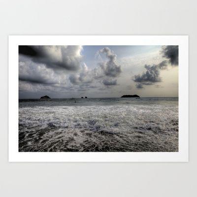 Costa Rica - Manuel Antonio Art Print by Cameron Frost - $24.96