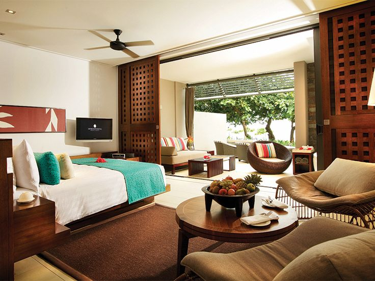 Luxurious accommodation at the InterContinental Golf Resort & Spa, Fiji  www.islandescapes.com.au