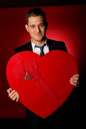 MICHAEL BUBLE | To Be Loved... Michael all ready stole my heart out of me. I love him so much.