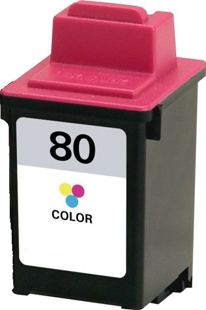 """Buy #80 (12A1980) Color Ink Cartridge for Lexmark at Houseoftoners.com. We offer to save 30-70% on ink and toner cartridges. 100% Satisfaction Guarantee."