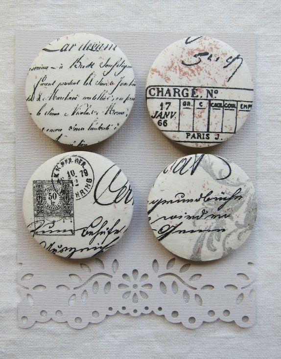 Magneter med skrift