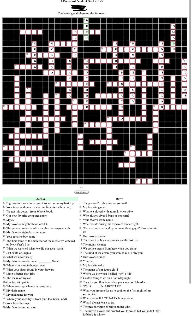 dating site- ul crossword poate un vechi de 19 ani 27 de ani