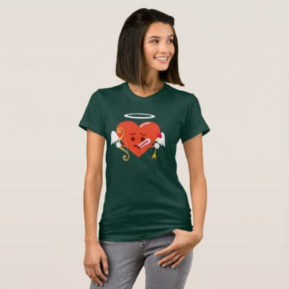 Cupid Heart Emoji fever Valentines shirt - valentines day gifts diy couples special day