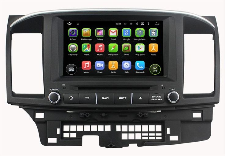"""Android 5.1 Rockchip 3188 Cortex A9 Quad-cord 1024*600 2 din 8"""" Car dvd player for Mitsubishi Lancer 2014-2015 With mirror link"""