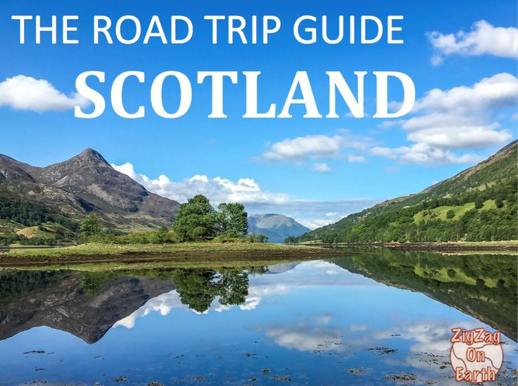 eBook: The Road Trip Guide - Scotland by ZigZag On Earth - 15 original Maps, 175 photos and all the info you need to plan your trip to Scotland