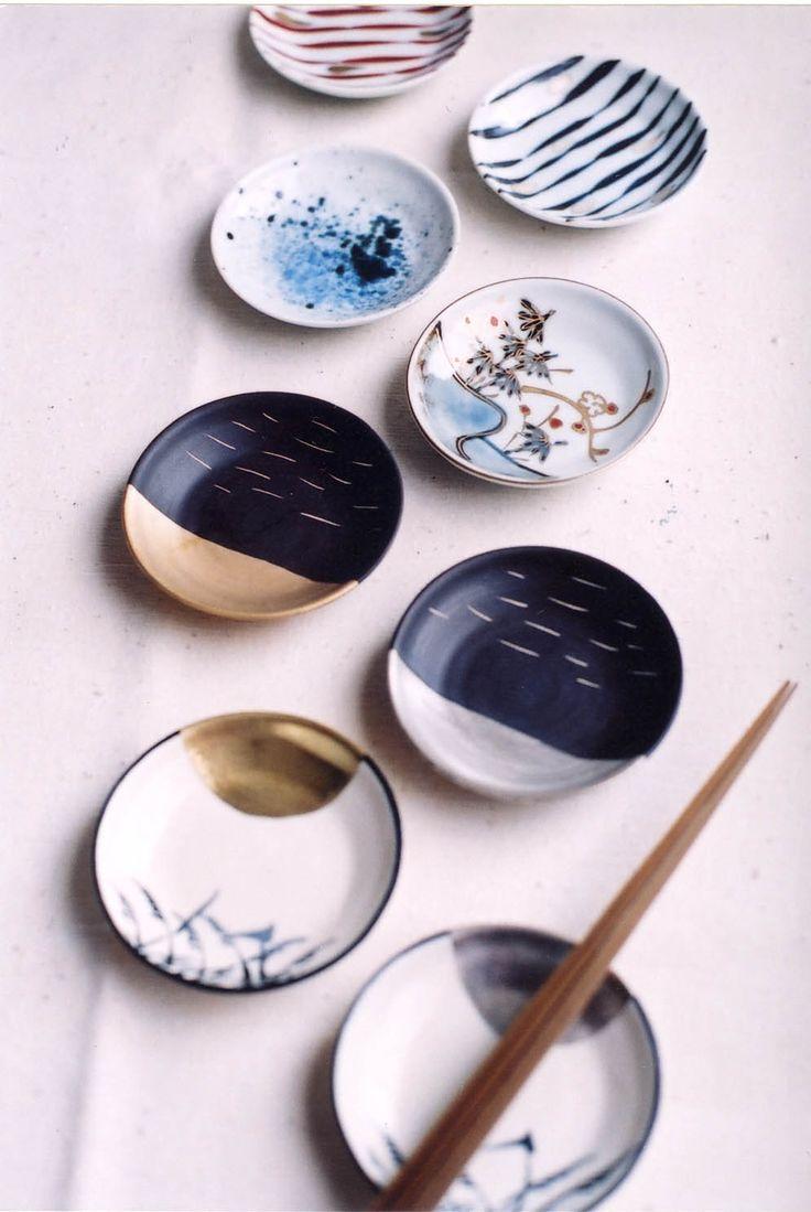 Saucers, Arita porcelain