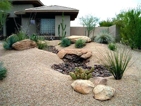 Backyard Desert Landscaping Ideas On A Budget Desert Backyard