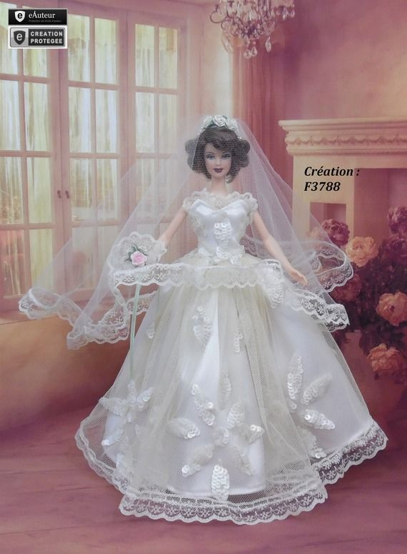 robe barbie marie n23 vtement pour poupe barbie silkstone fashion royalty muse f3788