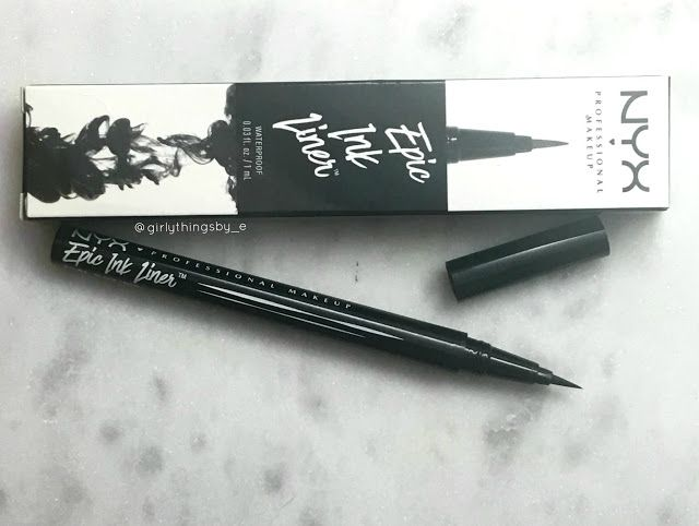 NYX Epic Ink Liner, dupe alert! @girlythingsby_e