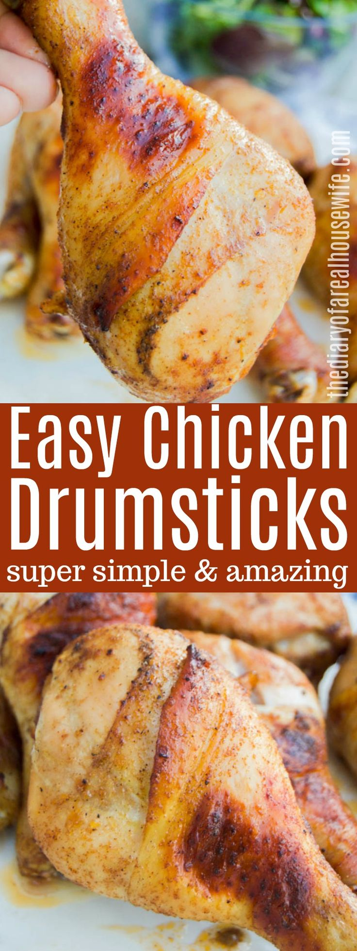 Healthy Baked Chicken Drumstick Recipes