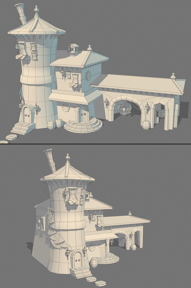 Hand-painted Wells - Page 11 - Polycount Forum