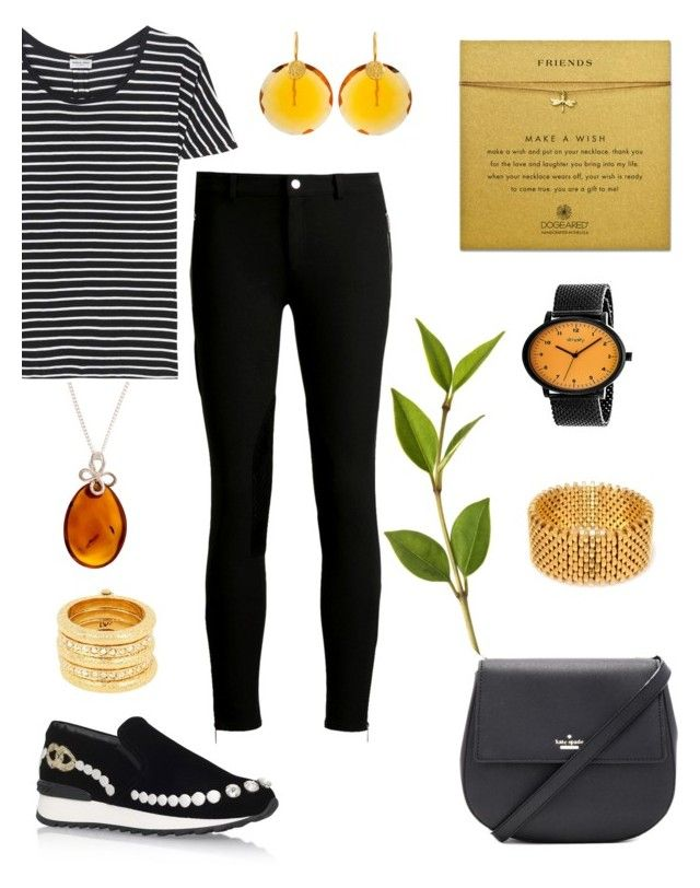 """Think."" by schenonek ❤ liked on Polyvore featuring Be-Jewelled, Yves Saint Laurent, Casadei, Michael Kors, Kate Spade, Alice Menter, Kastur Jewels, Diane Von Furstenberg and Simplify"