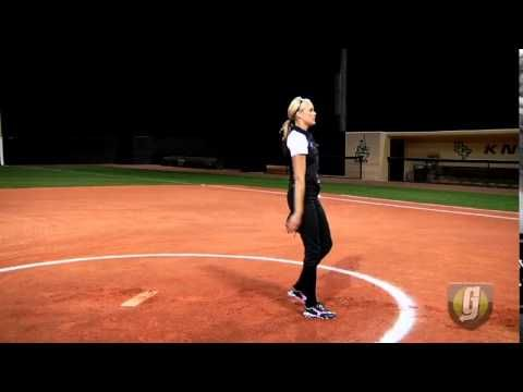 Jenny Finch Pitching Instruction - YouTube