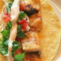 Barbecued Chipotle Fish Tacos @ allrecipes.com.au