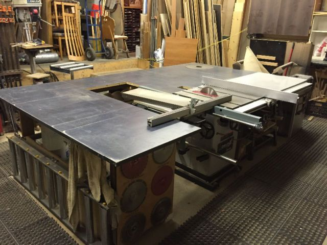 Banc de scie Unisaw X5 + table de coupe + établie + sableuse... | outils électriques | Laval/Rive Nord | Kijiji