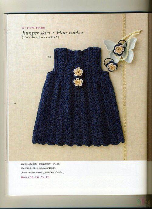 Dress for baby or toddler  【引用】钩裙子 - xsyqd40990723的日志 - 网易博客 - 云飞扬 - 云飞扬的天空
