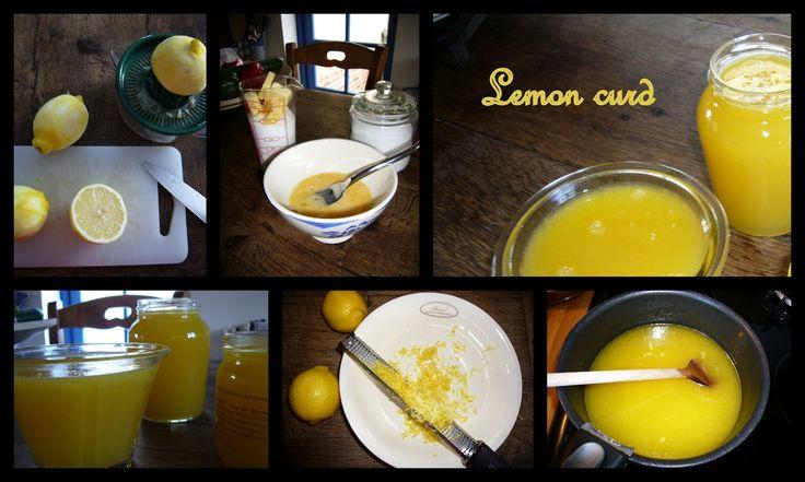 Les p'tits plats du Manoir: Lemon curd