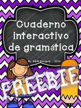 Looking for a few sample pages of my Spanish Interactive Grammar Notebook? Look no further!!  Engaging interactive grammar pages perfect for back to school or any time of the year! This file includes a few sample pages of the interactive journal PLUS photographs of my own interactive journal to use as a SAMPLE!!!!
